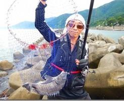 日本海チヌフカセ